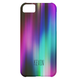 Modern Bright Colors Abstract Rays iPhone 5C Case