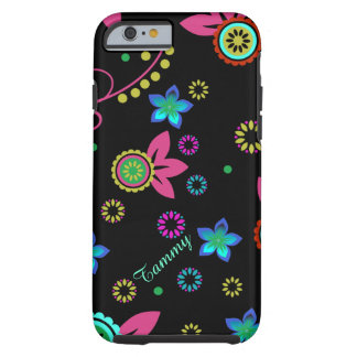 Modern Bright Floral iPhone 6 case Tough iPhone 6 Case