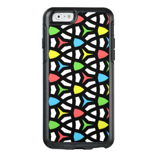 Modern Bright Geometrical Pattern in contemporary OtterBox iPhone 6/6s Case