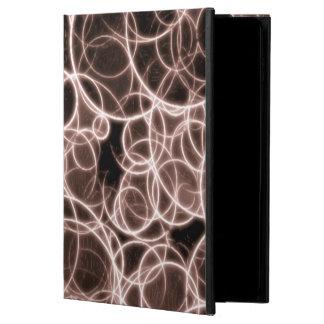 Modern Brown Pattern iPad Case