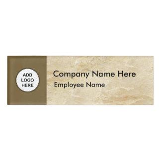 Modern Bulk Logo Name ID Badges Name Tag