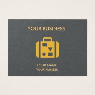 MODERN BUSINESS CARD MINIMALIST CLEAN EDGE CUSTOM
