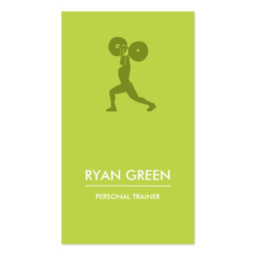 Modern Business Card | Personal Trainer