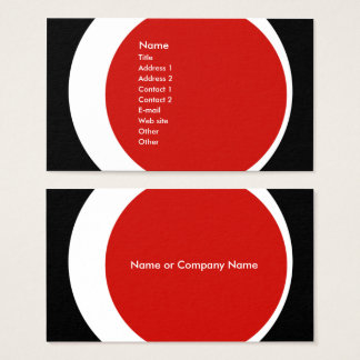 Modern Business/Social Networking Profile Card