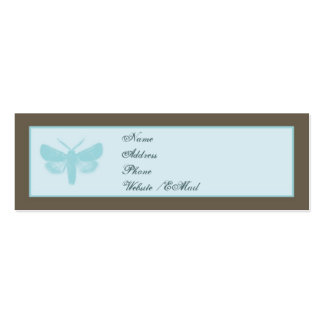 Modern Butterfly Skinny Calling / Business Card