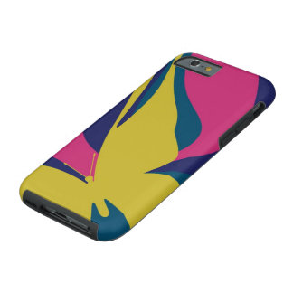 Modern Butterfly Tough iPhone 6 Case