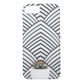 modern cactus iPhone case