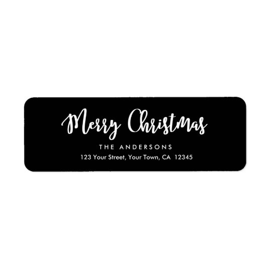 Modern Calligraphy Merry Christmas Script Holiday