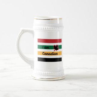 Modern Canadian Blanket (English) Stein