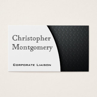 Modern Carbon Fiber Premium Business Cards