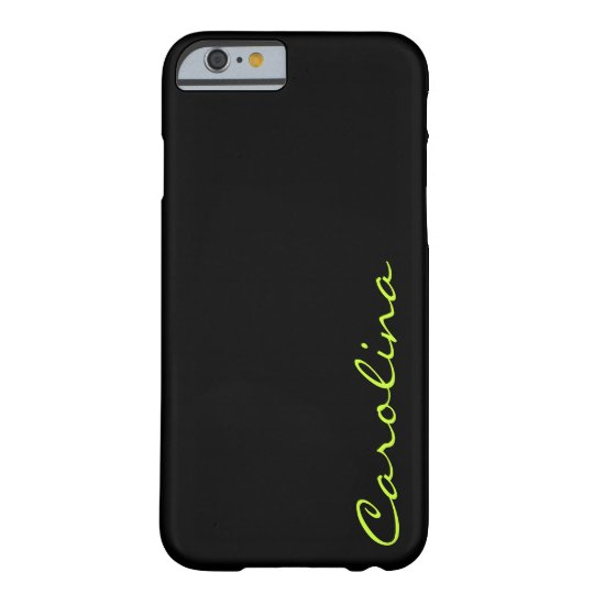 Modern Casual Monogram Personalised Barely There iPhone 6