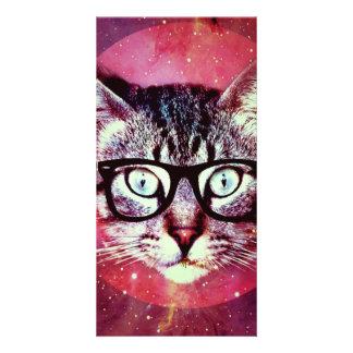 Modern Cat Picture Card