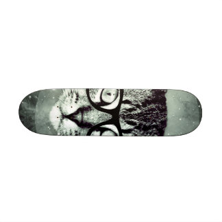 Modern Cat 19.7 Cm Skateboard Deck