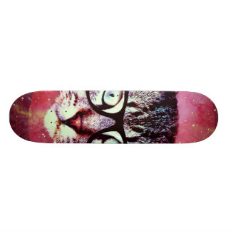 Modern Cat Skate Board Deck