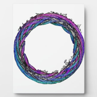 Modern Celtic Enso Photo Plaques