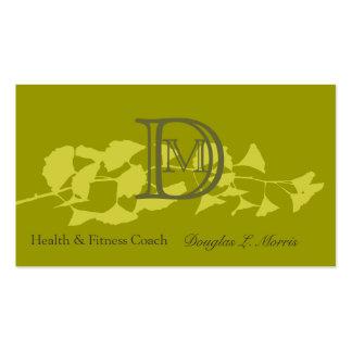 Modern Charming Elegant Nature Branch Pack Of Standard Business Cards