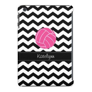 Modern Chevron Zigzag Volleyball iPad Mini Case