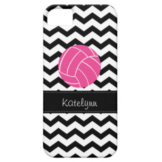 Modern Chevron Zigzag Volleyball iPhone 5 Case