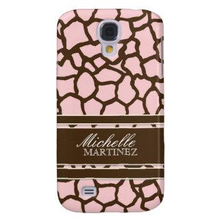 Modern Chic Fashion Giraffe Skin Pattern Phone HTC Vivid Cover