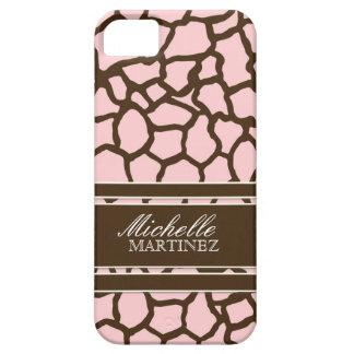 Modern Chic Fashion Giraffe Skin Pattern Phone iPhone 5 Covers