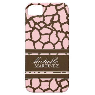 Modern Chic Fashion Giraffe Skin Pattern Phone iPhone 5 Cases