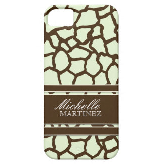 Modern Chic Fashion Giraffe Skin Pattern Phone iPhone 5 Cover