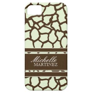 Modern Chic Fashion Giraffe Skin Pattern Phone iPhone 5 Cover