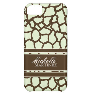 Modern Chic Fashion Giraffe Skin Pattern Phone iPhone 5C Case