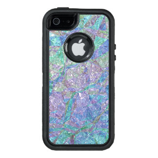 Modern Chic Pastel Colors Marble Mosaic Pattern OtterBox iPhone 5/5s/SE Case