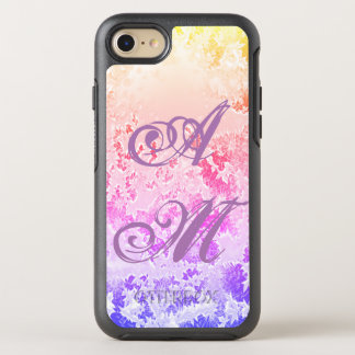 Modern, Chic, Trendy, Initial Personalized OtterBox Symmetry iPhone 8/7 Case