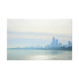 Modern Chicago Lakefront Trail Canvas Print