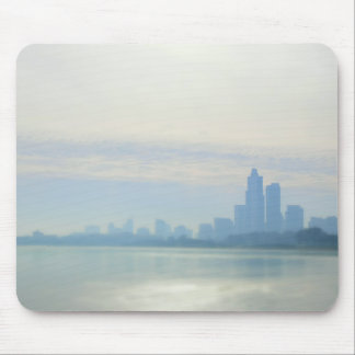 Modern Chicago Lakefront Trail Mouse Mat