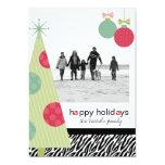 Modern Christmas 5 x7 Photo Cards 13 Cm X 18 Cm Invitation Card