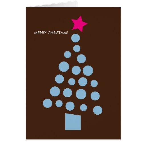 Modern Christmas Card - Christmas Tree