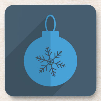 Modern Christmas Design Coaster