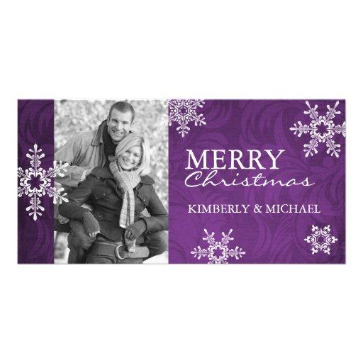 Modern Christmas Photo Card Template