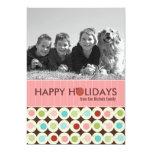 Modern Christmas Photo Cards {5 x 7} 13 Cm X 18 Cm Invitation Card