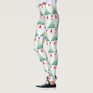 Modern Christmas Tree Leggings
