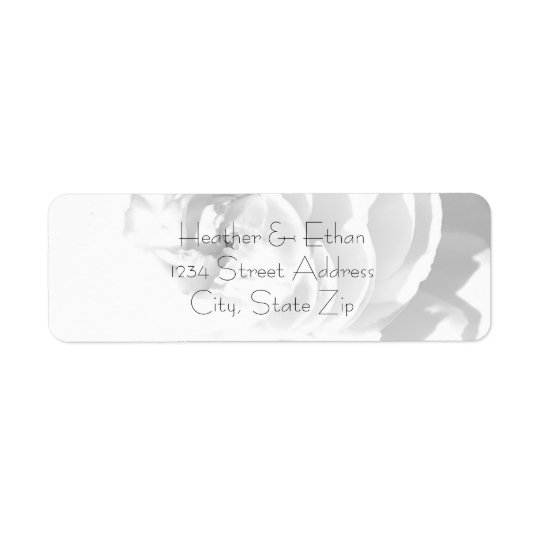 Modern Chrysanthemum/Peony - Address Labels
