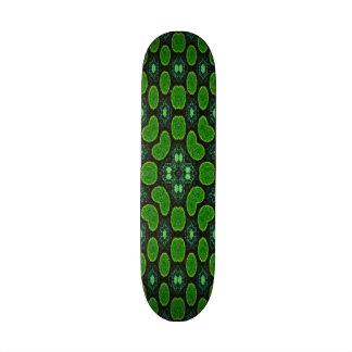 Modern circle pattern custom skateboard