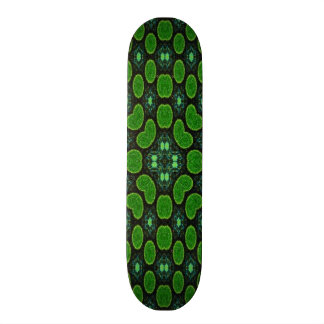 Modern circle pattern skate deck