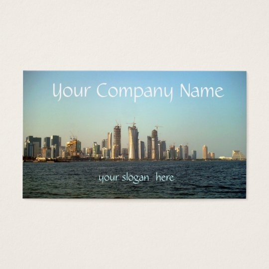 Modern Cityscape Business Card