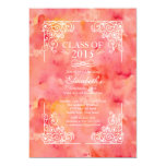 Modern Class of 2015 Graduation Party Invitation 13 Cm X 18 Cm Invitation Card