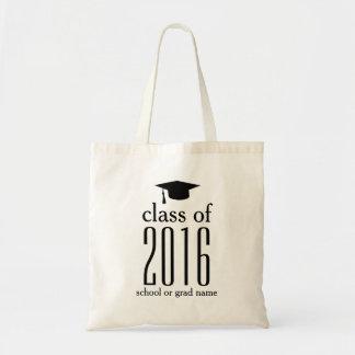 Modern Class of 2017 Graduation Cap Custom Color