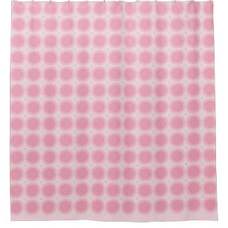 Modern-Classic-Pink-Sun-Rise--Designer-Bath-Decor Shower Curtain