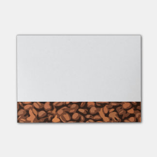 Modern Coffee Bean Post-it Notes