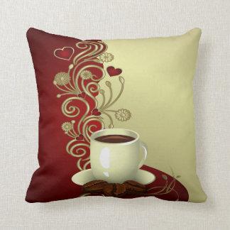 Modern Coffee Lover Cushion