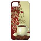 Modern Coffee Lover iPhone 5 Case