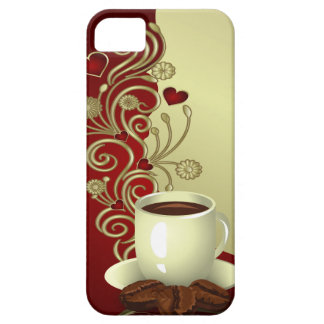 Modern Coffee Lover iPhone 5 Case