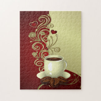 Modern Coffee Lover Jigsaw Puzzle
